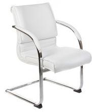 Fotel konferencyjny CorpoComfort BX-3339B Biały