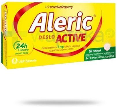 Aleric Deslo Active 5mg 10 tabletek