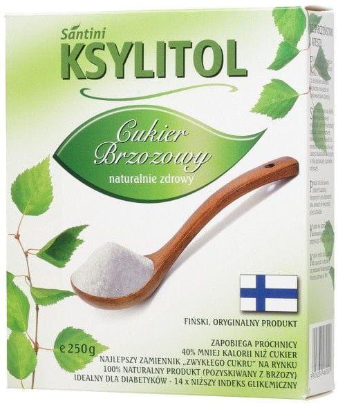 Ksylitol 250 g - santini finlandia