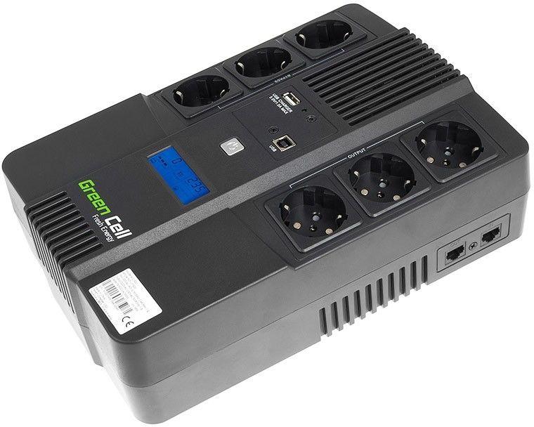 Zasilacz awaryjny UPS Green Cell AiO 600VA 360W