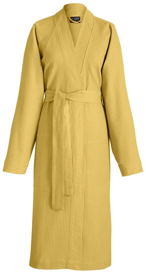 Das Jacquard Francais 22298 szlafrok Polygon bawełna żółty 35 x 28 cm