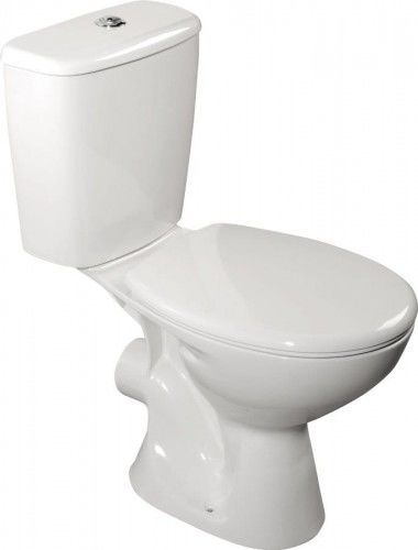 Kompakt WC JUAN poziomy 35x75x63 cm z deską wolnoopadającą