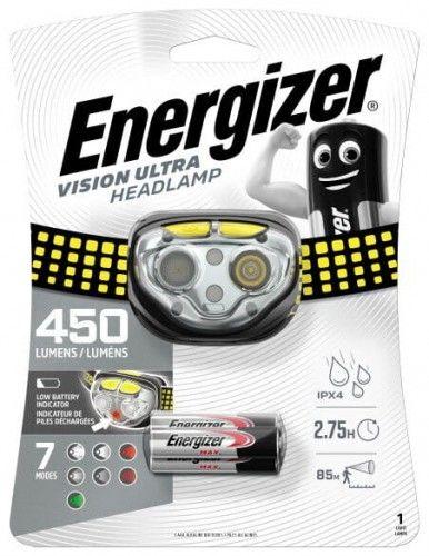 latarka czołowa Energizer Vision ULTRA 3AAA 3led 450 lumens