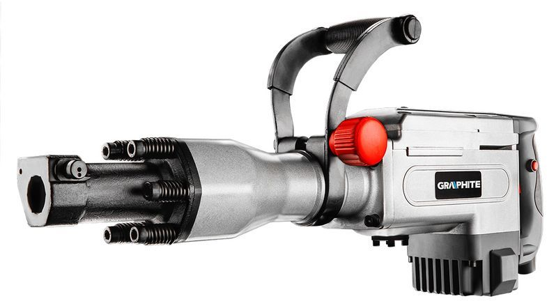 Młot wyburzeniowy uchwyt sześciokątny 30 mm 1700W 58G867