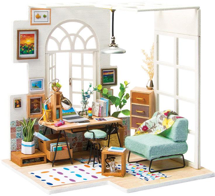 Colorino - Zestaw modelarski Miniaturowy domek Soho Time 37190