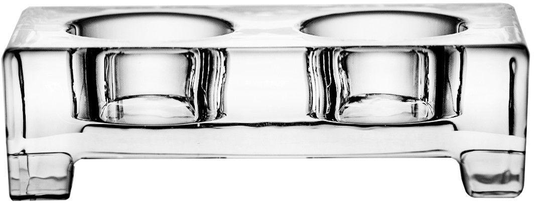Świecznik kryształowy na świece podgrzewacze 5427