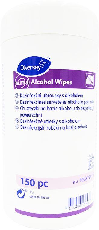Suma Alcohol Wipes – chusteczki do dezynfekcji powierzchni oparte na etanolu 150 szt.