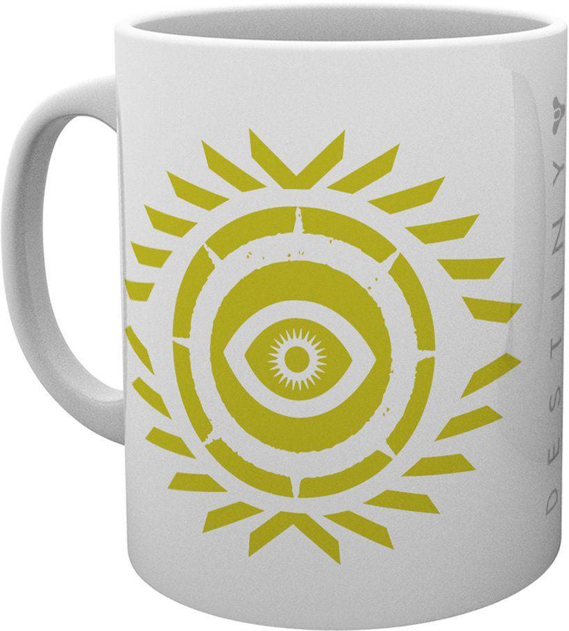 GB Eye LTD, Destiny 2, logo Osiris, kubek, ceramiczny, różnorodny, 15 x 10 x 9 cm
