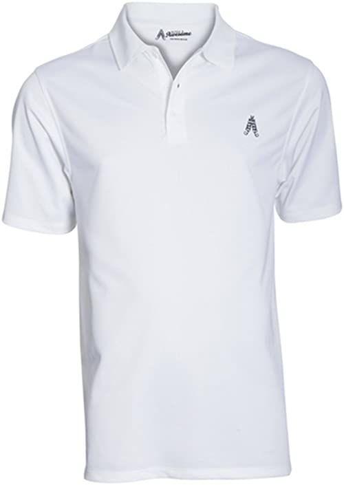 Royal & Awesome Męska koszulka polo polo biały biały L