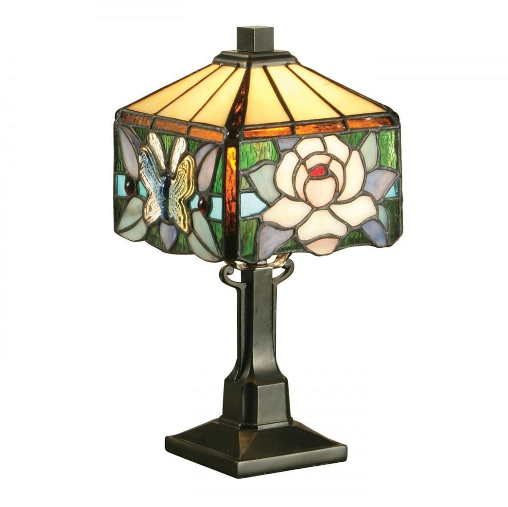 Lampa stołowa TIFFANY ROCHETTE - 64316 - INTERIORS 1900  Skorzystaj z kuponu -10% -KOD: OKAZJA