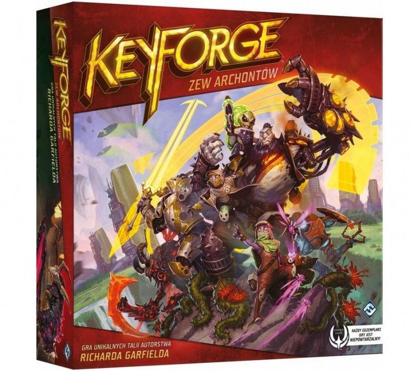 KeyForge Zew Archontów Pakiet startowy ZAKŁADKA DO KSIĄŻEK GRATIS DO KAŻDEGO ZAMÓWIENIA