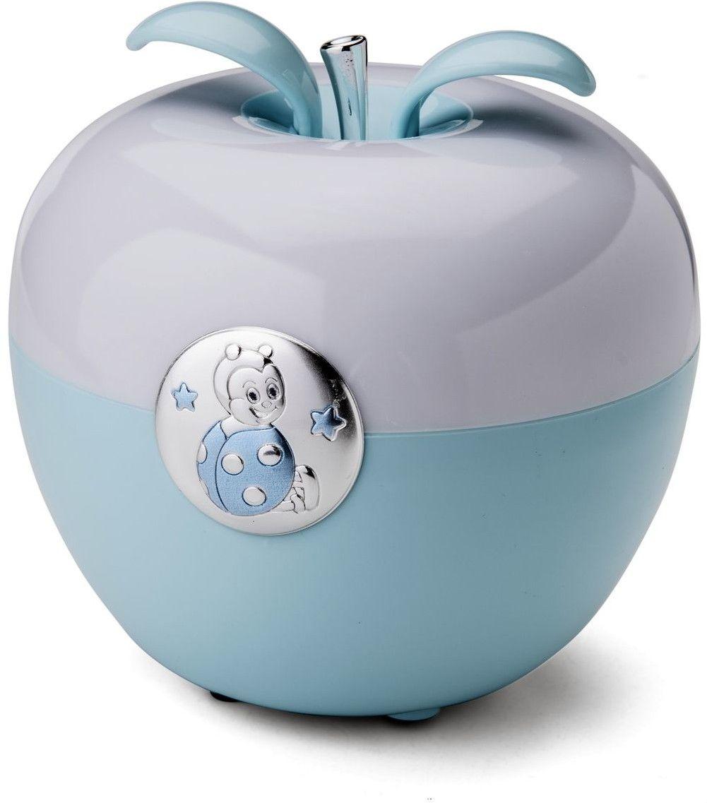 Lampka jabłuszko Biedronka Rozmiar: H 11 Fi 12 cm Kolor: Niebieski SKU: VL21153C