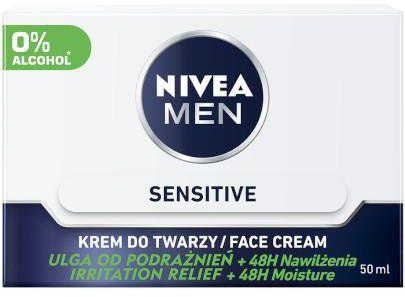 Nivea Men Sensitive krem do twarzy 50 ml