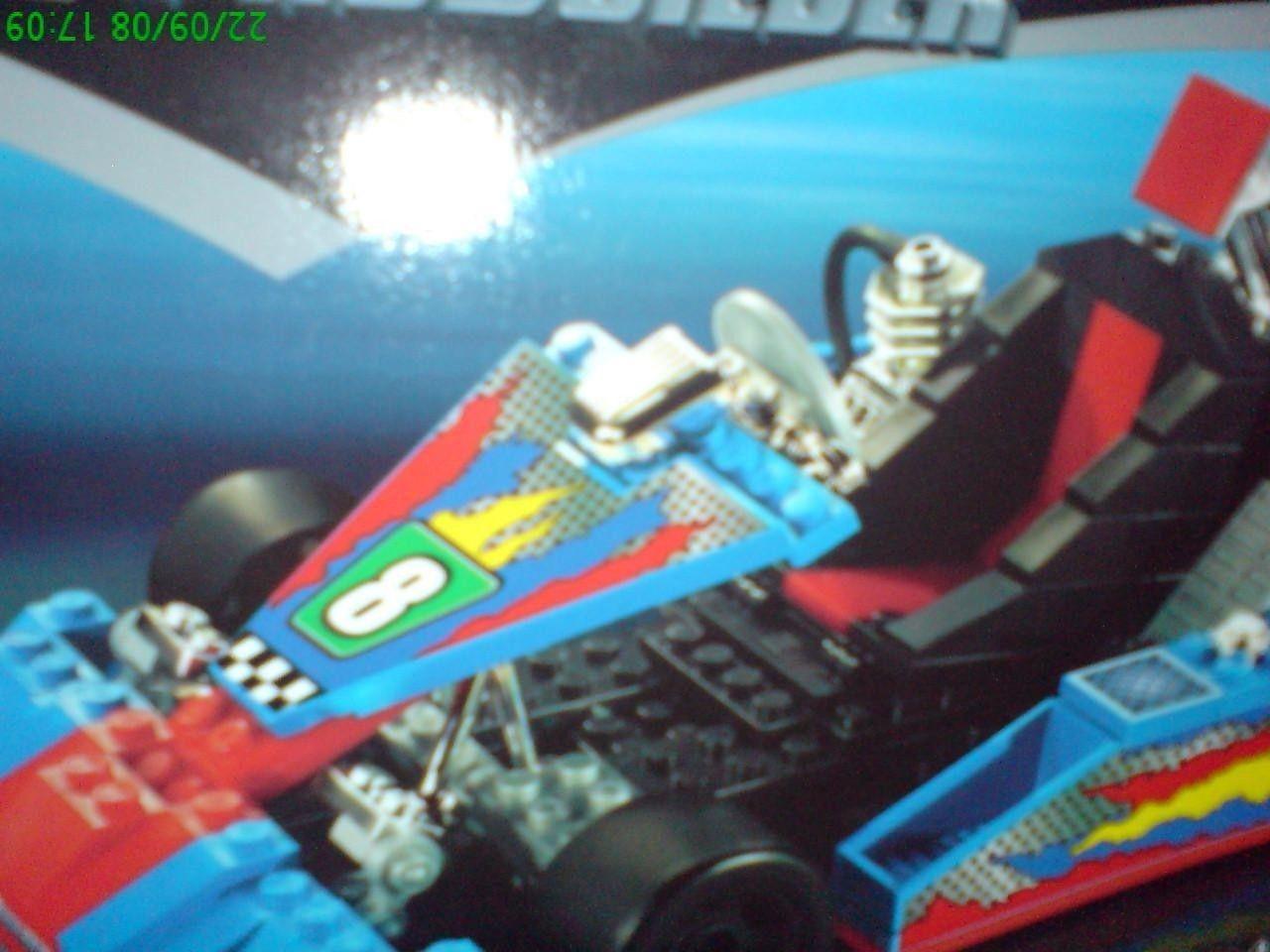 Mega Bloks Pro Builder Go Kart 9727