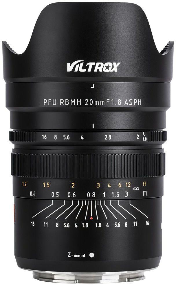 Obiektyw Viltrox 20mm F1.8 Nikon Z