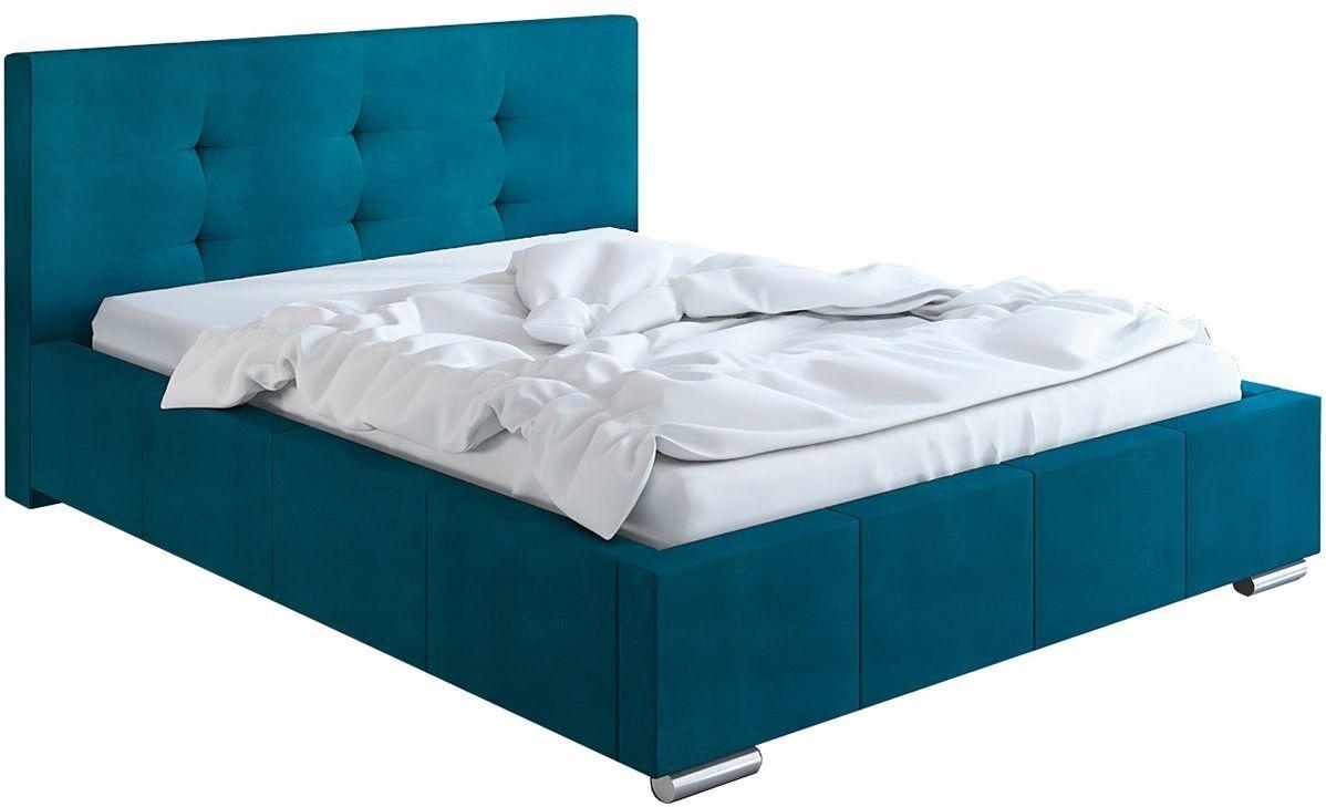 Podwójne łóżko pikowane 140x200 Keren 2X - 48 kolorów