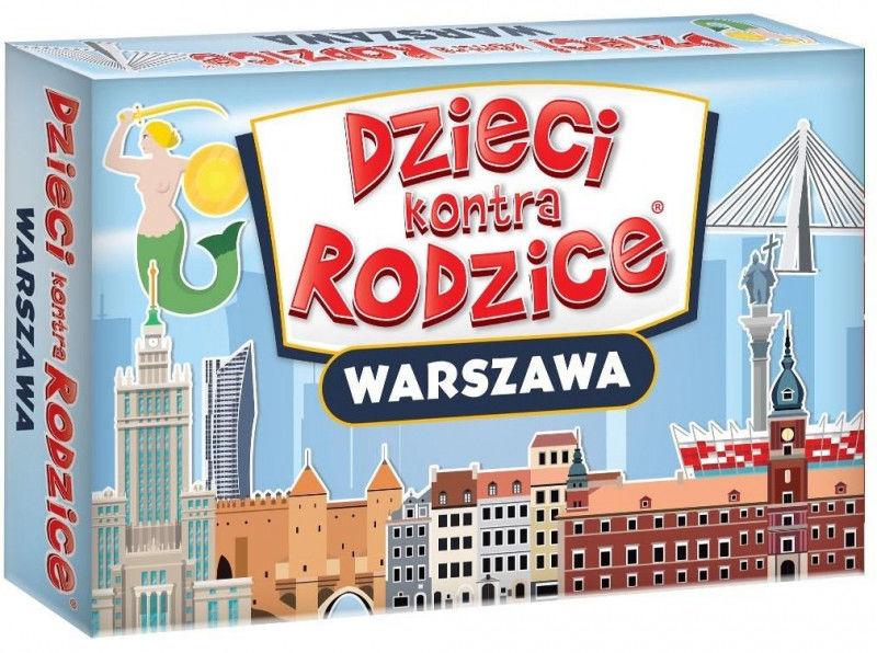 Dzieci kontra Rodzice. Warszawa ZAKŁADKA DO KSIĄŻEK GRATIS DO KAŻDEGO ZAMÓWIENIA