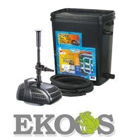 BIOfiltr Basic zestaw filtracyjny do oczka wodnego, pojemność 10000l + Pompa 2000l/h