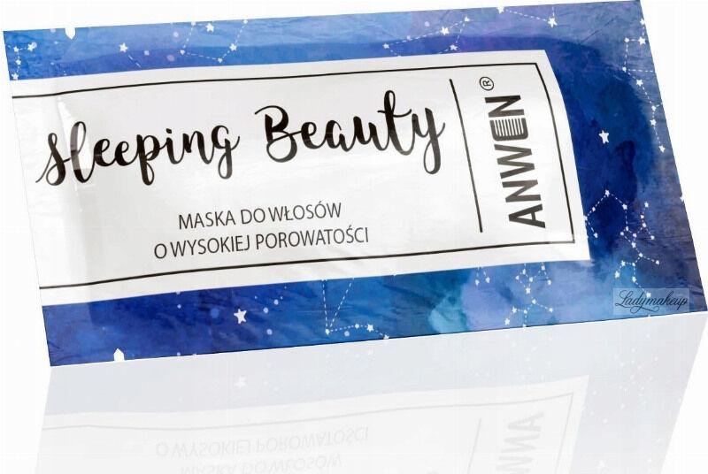 ANWEN - Sleeping Beauty - Maska do włosów o wysokiej porowatości - Na noc - 10 ml
