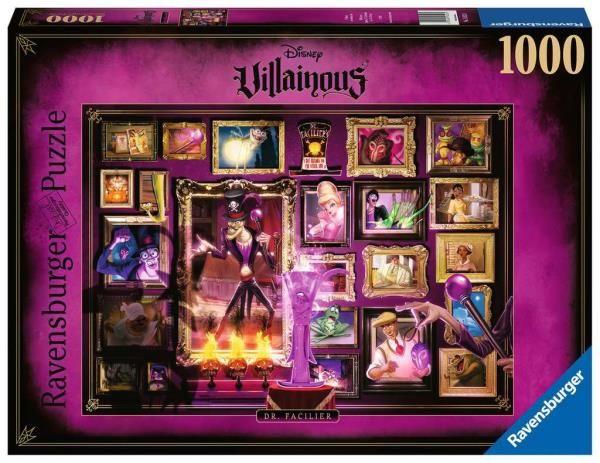 Puzzle 1000el Villainous. Dr. Facilier 165230 RAVENSBURGER (RAP 165230)