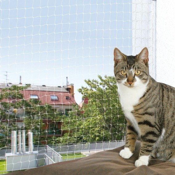 TRIXIE Siatka ochronna na balkon dla kota czarna 4x3m DLA ZAMÓWIEŃ + 99zł GRATIS!