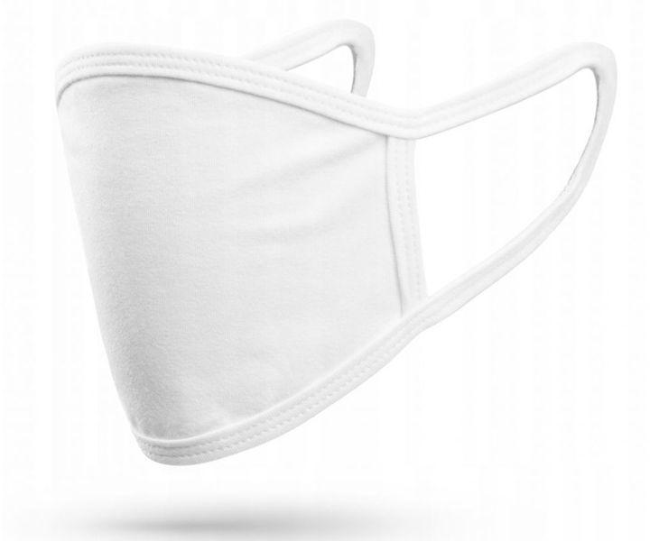 Maska ochronna x2 maseczka na twarz Protective Mask Biała