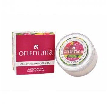 Orientana Day and Night Face Cream Ashwaganda Krem do twarzy na dzień i noc - Żeń szeń indyjski 40 g