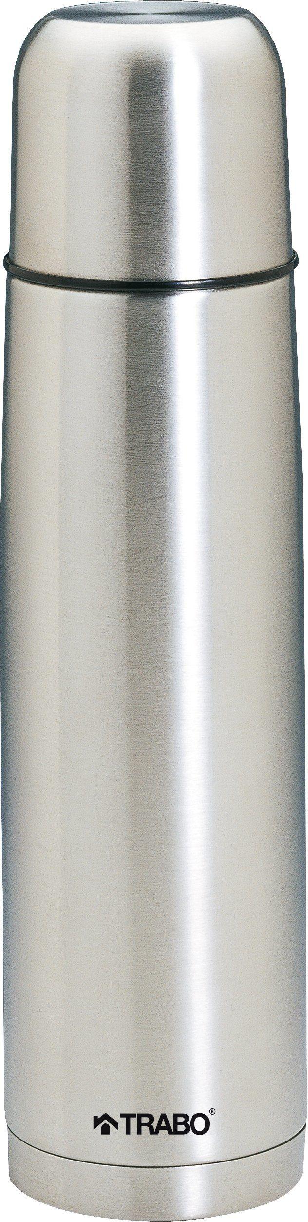 Trabo BZ006 Dakota pojemnik termiczny ze stali nierdzewnej, 0,5 l, srebrny