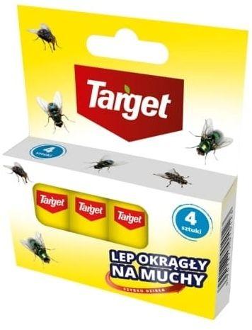 Lep na muchy  taśma  4 szt. target