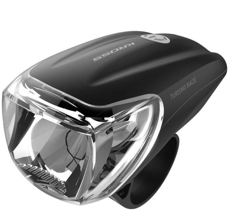 Lampka przednia Kross Turismo Sport czarna