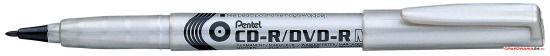 Marker do płyt CD NMS51 PENTEL czarny końcówka 0.8mm