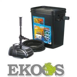BIOfiltr Kamuflaż Plus zestaw filtracyjny do oczka wodnego, pojemność 7000l + Pompa 2000l/h