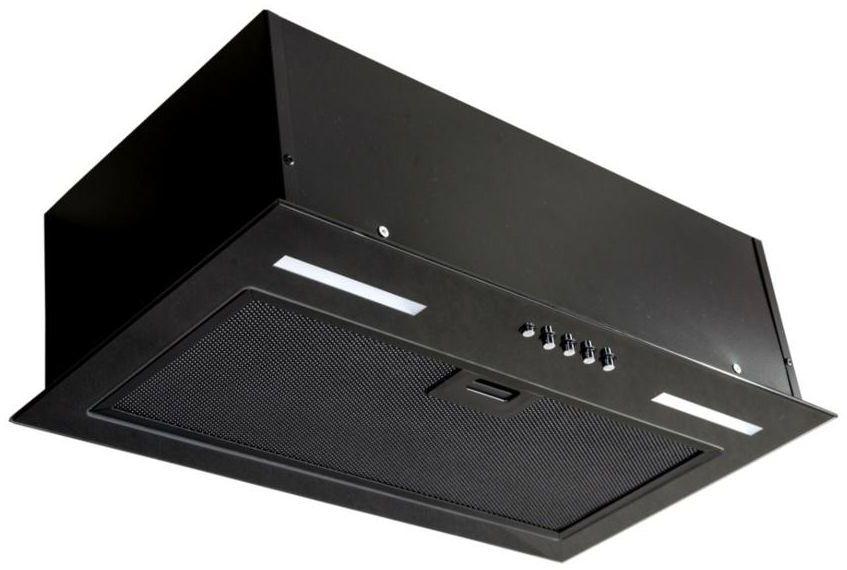 Okap podszafkowy do zabudowy S-BOX60 60 cm czarny CIARKO