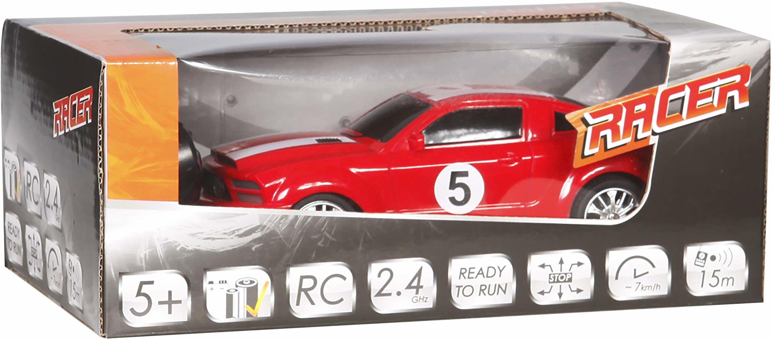 Racer R/C samochód wyścigowy ze światłem, 27 MHz