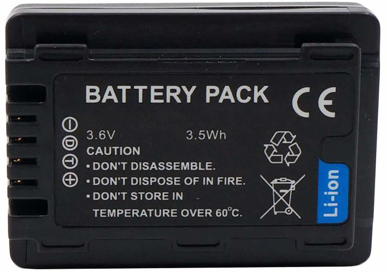 Cyfrowy zamiennik aparatu i baterii kamery do Panasonic HC-V110, HC-V710