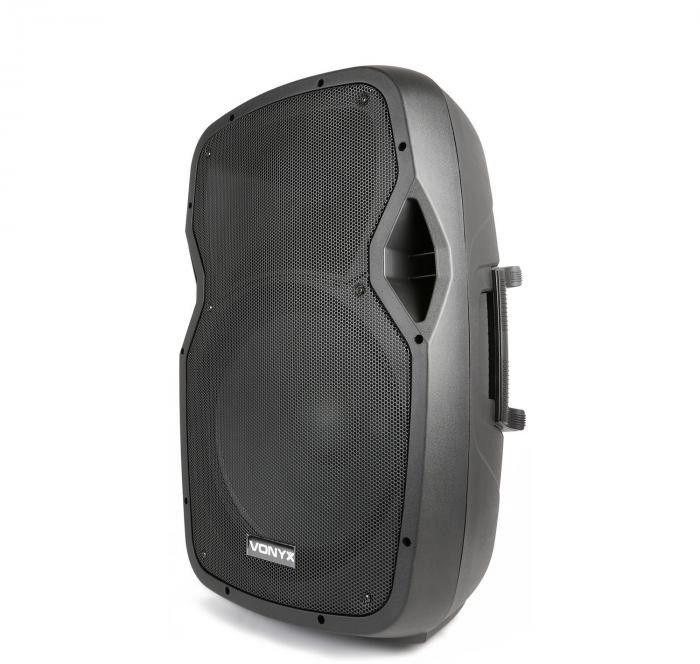 "Kolumna mobilna z mikrofonami 800W Vonyx AP1500PA 15"""