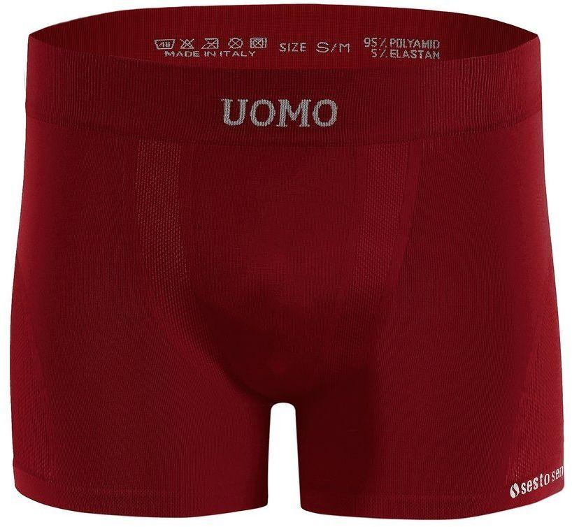 Bezszwowe bokserki sportowe SOLAR UOMO Sesto Senso