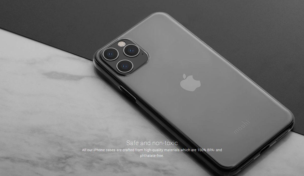 Moshi SuperSkin Etui Obudowa do iPhone 11 Pro (Crystal Clear)