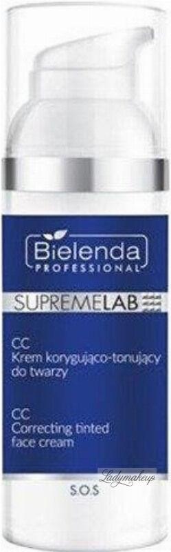 Bielenda Professional - SUPREMELAB S.O.S. - CC Corecting Tinted Face Cream - CC Korygująco-tonujący krem do twarzy - 50 ml