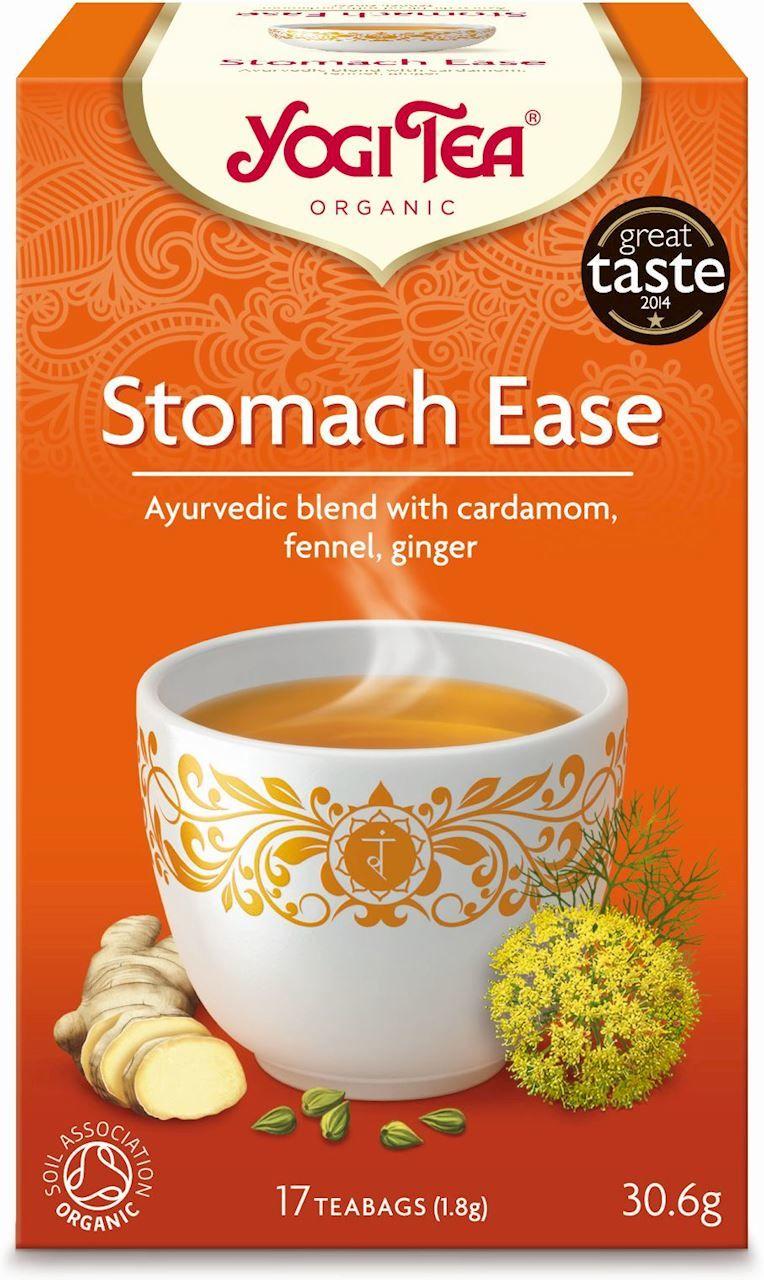 Herbatka na trawienie stomach ease bio 17 x 1,8 g 30,6 g - yogi tea