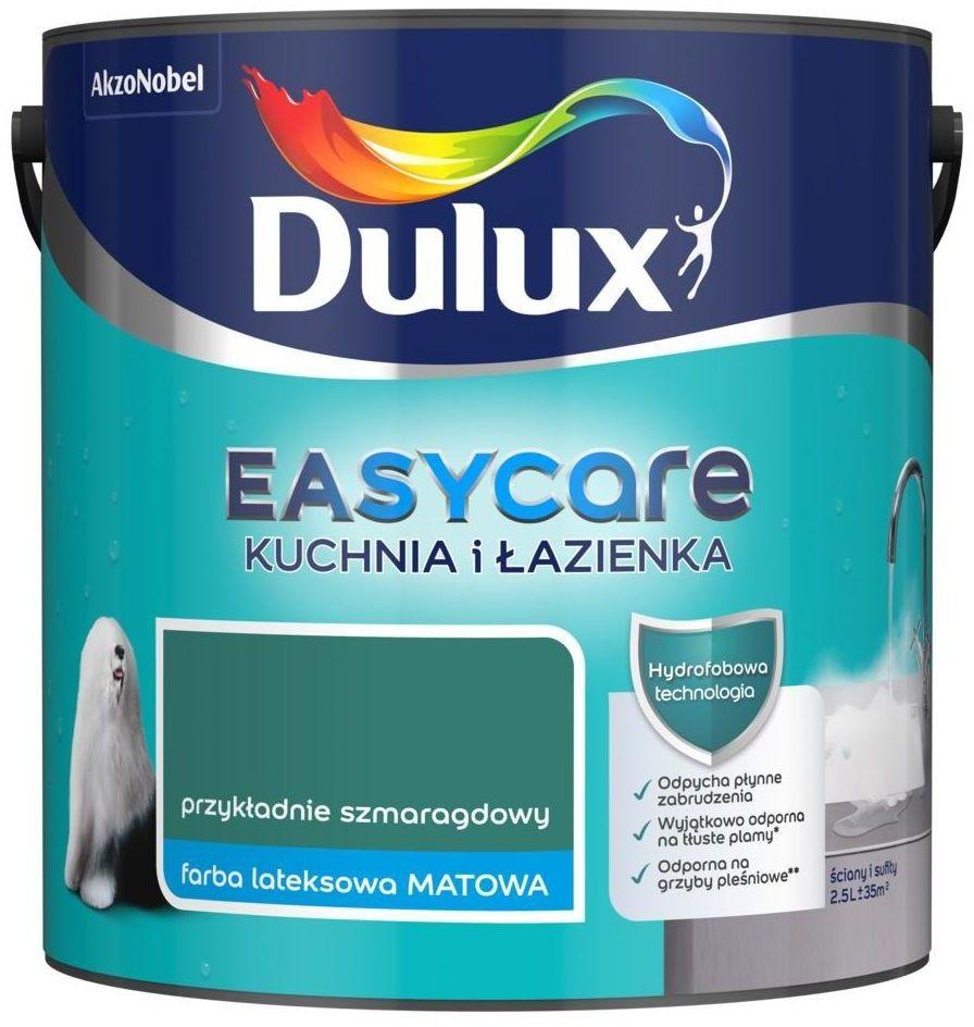 DULUX EASY CARE- kuchnia i łazienka, Przykładnie Szmaragdowy, 2.5l