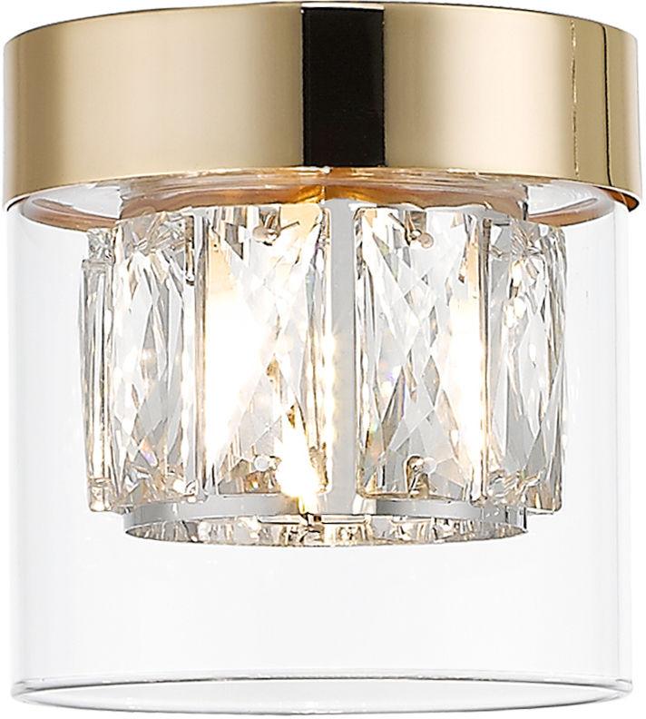 Zuma Line C0389-01A-F7AC GEM plafon lampa sufitowa złoty 1xG9 28W 11cm