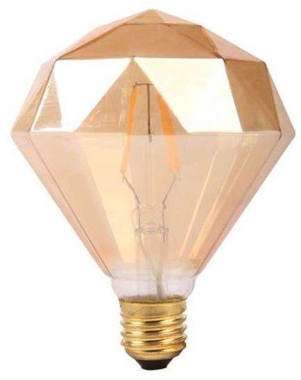 Żarówka FILAMENT LED E27 4W ciepła 2700K diament