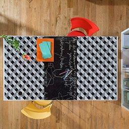 WALPLUS kreatywny zestaw 3D diament i tablica samoprzylepna naklejka ścienna, winylowa wielokolorowa, 64 x 5,5 x 5,5 cm