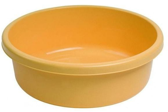 Miska 18L okrągła żółta