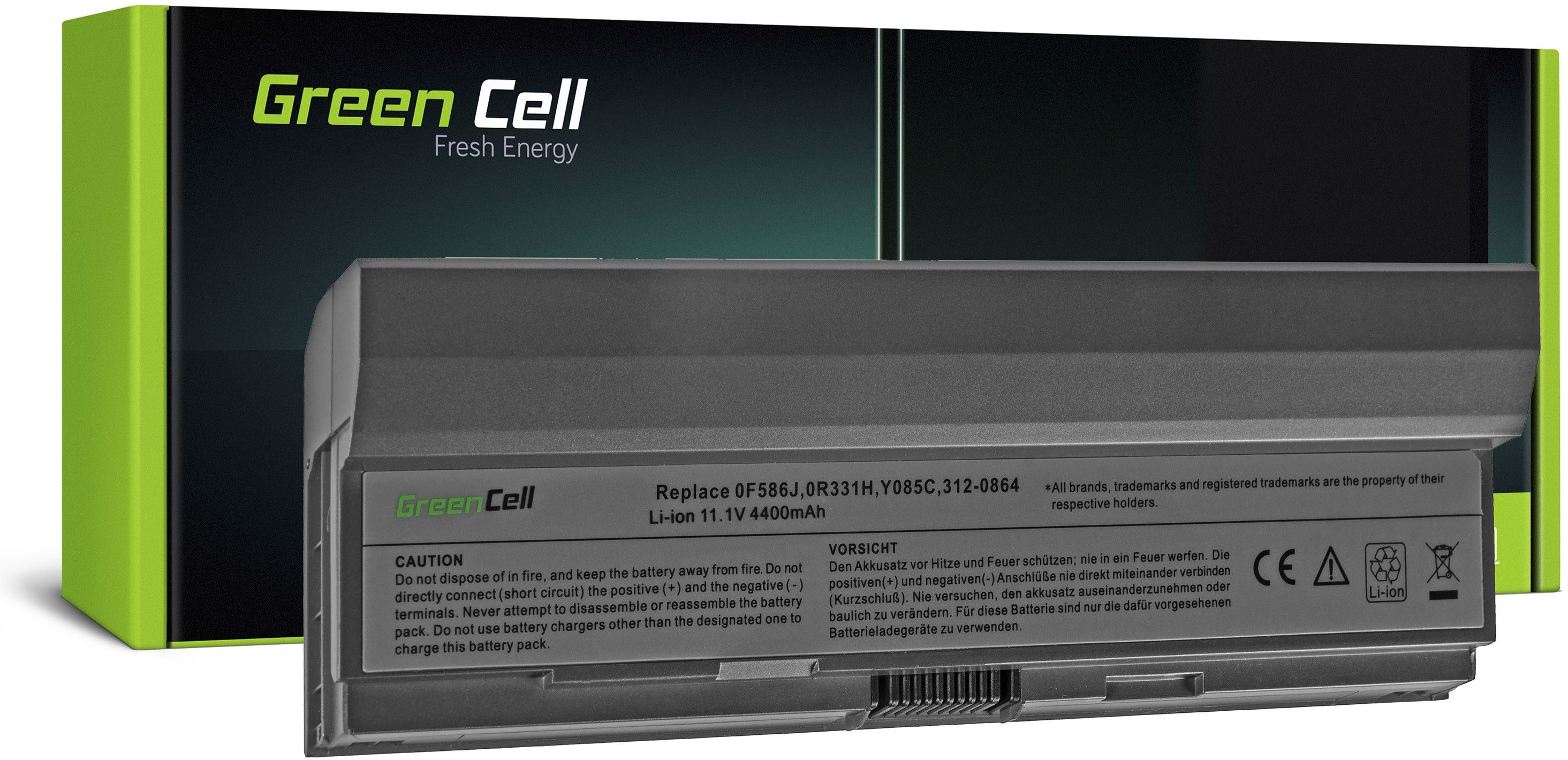 Bateria Green Cell W346C do Dell Latitude E4200 E4200n