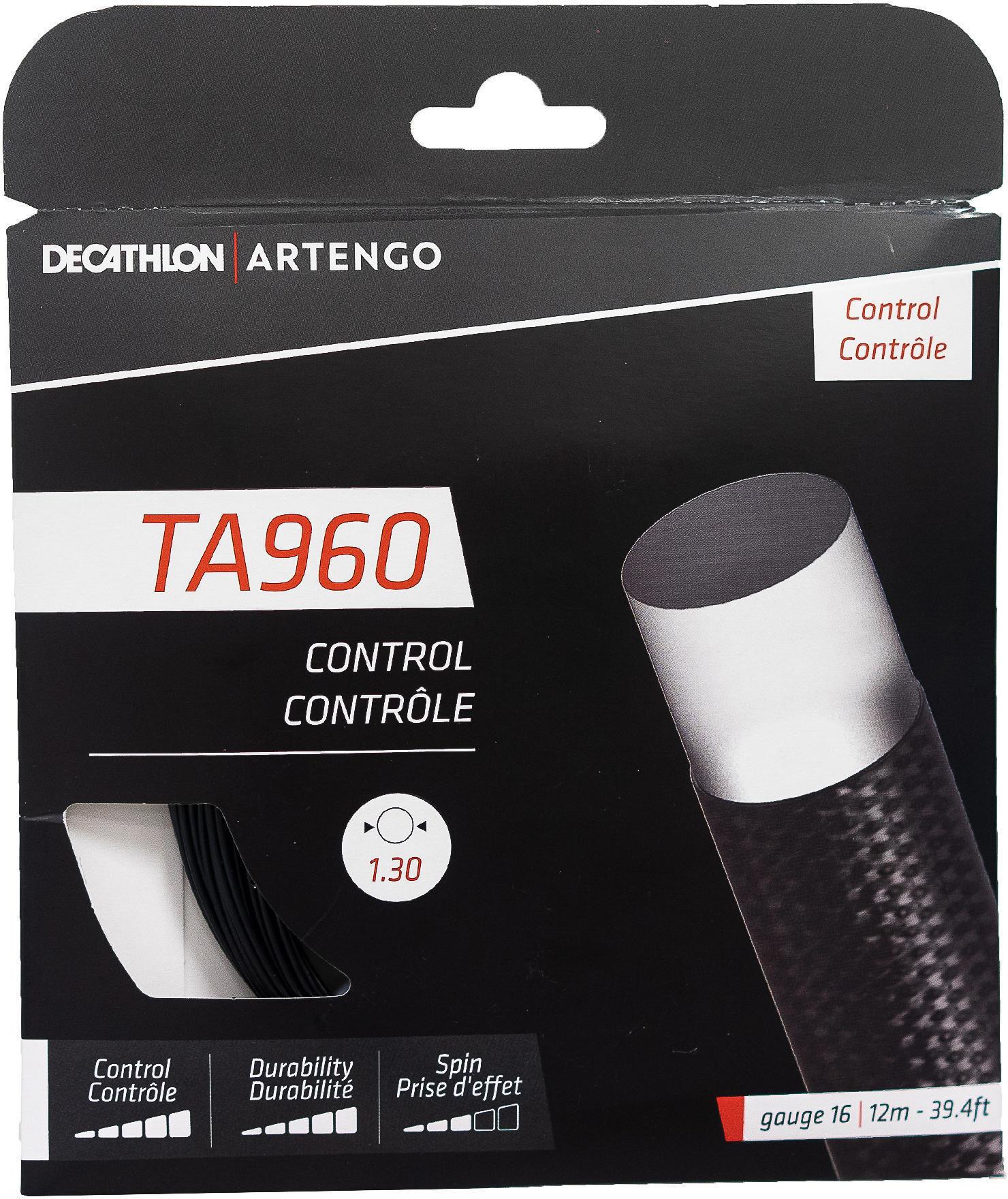 Naciąg tenisowy jednordzeniowy TA 960 Control struna 1,3 mm