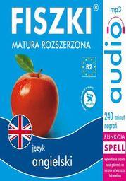 FISZKI audio j. angielski Matura rozszerzona - Audiobook.