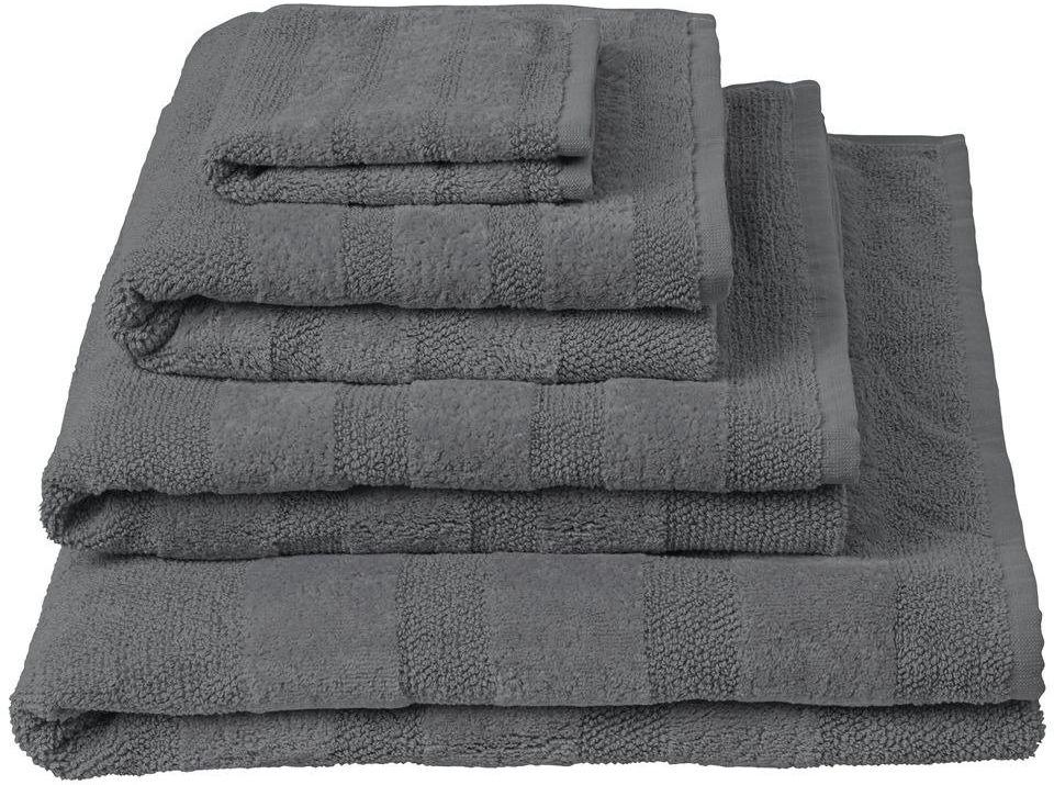 Ręcznik bawełniany Designers Guild Coniston Charcoal - Charcoal