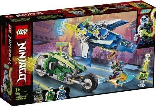 LEGO Ninjago - Wyścigówka Jaya i Lloyda 71709